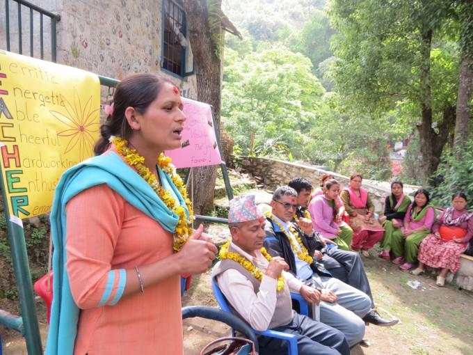 Celebrating Teachers' Day in Nepal | Rukmini Foundation