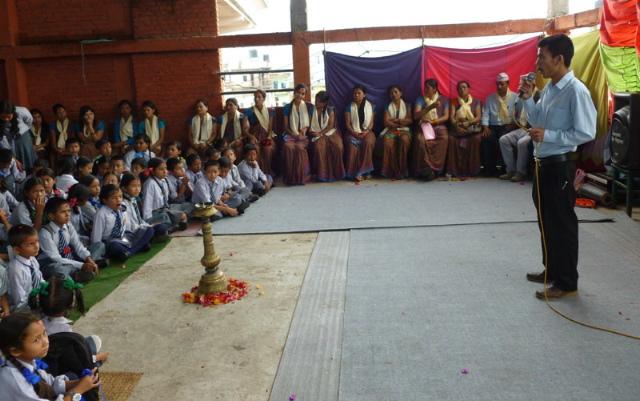Nepali Teacher's Day - Guru Purnima | Rukmini Foundation